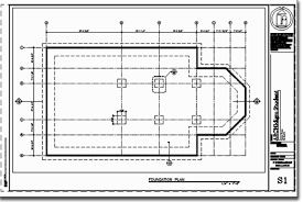 Floor Plan Using Autocad Adt Development Guide Exercise 1 Foundation Plan