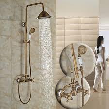 wasserhähne badezimmer klassische in wand badezimmer outdoor dusche wasserhahn set zwei