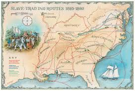 Louisiana Purchase Map by Retracing Slavery U0027s Trail Of Tears History Smithsonian