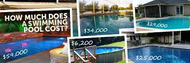 How Much To Landscape A Backyard by How Much Does A Pool Cost 93 Real World Examples Inyopools Com