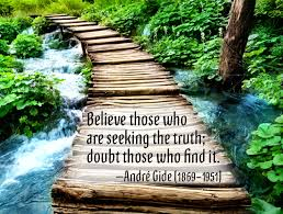 Where To Seeking Believe Those Who Are Seeking The Doubt Those Who Find It