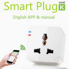 smartphone controlled outlet kankun wifi smart plug socket outlet 220v eu au uk kankun small k1