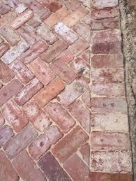 Herringbone Brick Patio Herringbone Bricks Backyards Pinterest Herringbone Bricks
