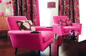 Pink Living Room Chair 111 Bright And Colorful Living Room Design Ideas Digsdigs