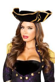 black purple gold 4 pc pirate queen costume
