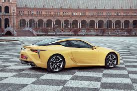 lexus toyota same company 2018 lexus lc 500 prototype review don u0027t call it boring wsj