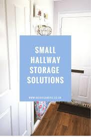 Hallway Ideas Uk by Small Hallway Storage Solutions Daisies U0026 Pie