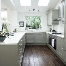 kitchen ideas grey white shaker style kitchen with grey units kitchen decorating