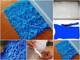 how to make old shirt floor mat step by step diy tutorial