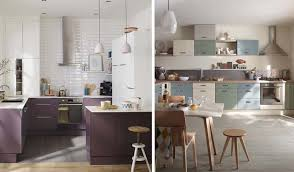 castorama cuisine sixties aménager une grande cuisine notre sélection de meubles de cuisine