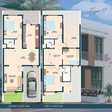 Home Design 100 Sq Yard 100 120 Sq Yard Home Design House Plan For 25 Feet By 52