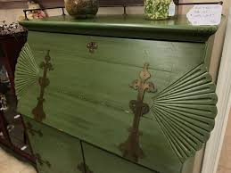 Antique Desk Secretary by Antique Asian Secretary Desk Brass Trim Pastimes Decor Antiques
