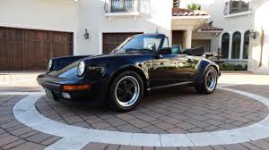 1986 porsche 911 turbo for sale collector quality 1986 porsche 911 turbo look cabriolet 1 of 226