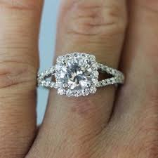 real diamond engagement rings clarity enhanced big diamond engagement rings and stud earrings 2
