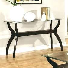 Glass Entry Table Glass Entry Table Home Design
