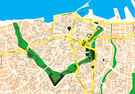 Crete Map City Map Of Heraklion Crete Tournet Greece