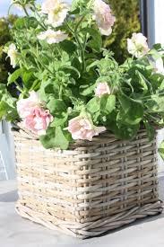 426 best flower basket images on pinterest flower baskets