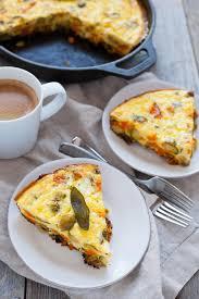 kara lydon thanksgiving breakfast frittata the foodie dietitian