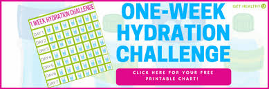 How Does Water Challenge Work One Week Hydration Challenge