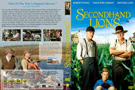 secondhand lions movie dvd scanned covers 124secondhand lions