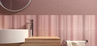 bathroom tile wall ceramic plain flavour cherry