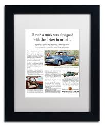 Vintage Ford Truck Seats - 14 ford if ever a truck vintage ad framed wall art zulily