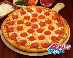 domino pizza hand tossed hoffman domino s smart slices sound healthy but you can t buy them