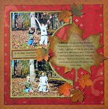 197 best scrapbook layouts fall thanksgiving images on
