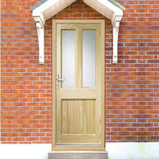 Exterior Pine Doors Malton External Pine Door Is Dowel Jointed With Flemish Pattern