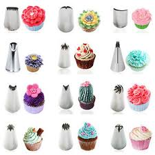 cupcake decorating tips stainless steel icing piping nozzles cake cupcake decorating tips