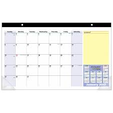 amazon com at a glance desk pad calendar 2017 monthly