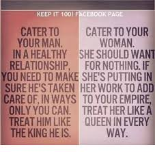 How To Keep A Man Meme - keep it 100 facebook page caterto cater to your woman your man in