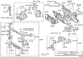 front fender apron u0026 dash panel toyota part list jp carparts com