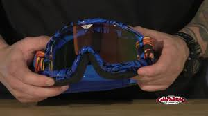 motocross goggles with camera fly racing 2015 zone pro mx goggles review video gallery