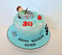 fishing theme birthday cake by emma alyson cake company lismore