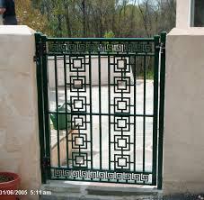 decorative fence gates fences wrought iron picypic