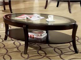 coaster fine furniture 5525 coffee table atg stores coaster furniture oval coffee table with glass top cappuccino