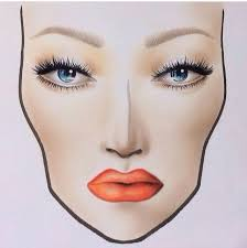 39 best f a c e c h a r t s images on pinterest mac face charts
