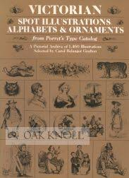 spot illustrations alphabets and ornaments from