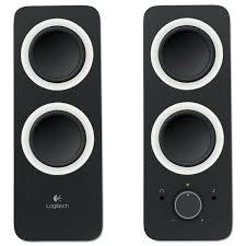 avid home theater logitech z200 multimedia 2 0 stereo speakers black walmart com