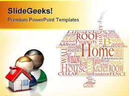 house powerpoint templates slides and graphics
