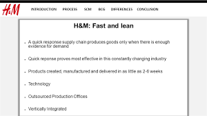 Supply Chain Fashion Industry Supply Chain Management Supply Chain Management Introduction