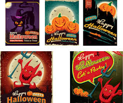halloween horizontal background halloween vector graphics art free download design ai eps
