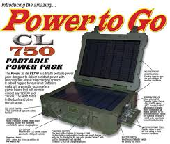 battery powered cl light portable power pack cl 750 cerled australia cing led