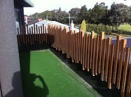 50 x 50 aluminum posts random pattern fencing u0026 decks designs