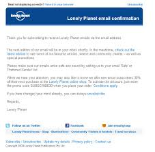 confirmation emails email design review