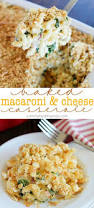 creamy baked macaroni and cheese casserole yummy healthy easy