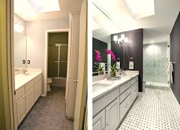 Galley Bathroom Design Ideas Guest Bathroom Remodel Reveal