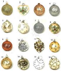selection gisela graham cream gold silver bauble christmas tree