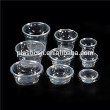 candy cups wholesale wholesale small plastic candy jars with lids food sle cups